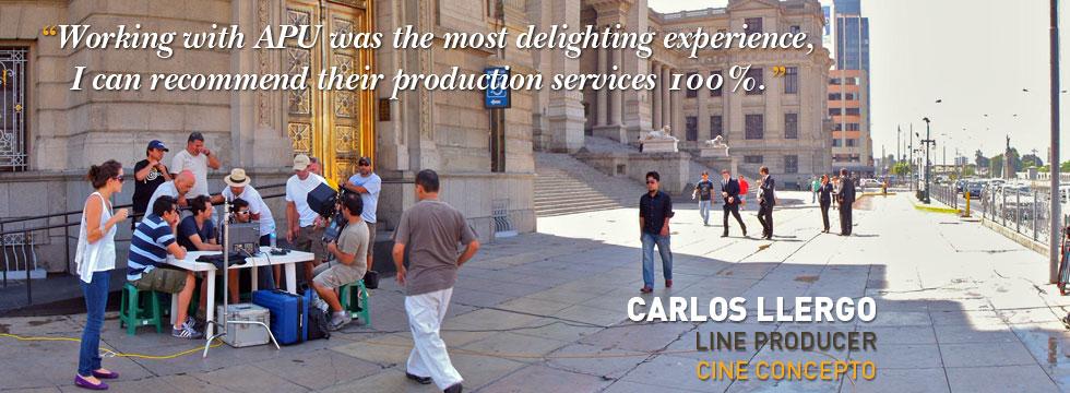 Carlos Llergo - Cine Concepto Line - Producer